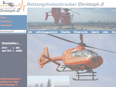 Christoph 2 - Rettungshubschrauber