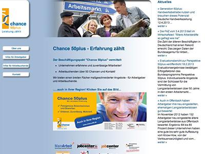 Chance 50 - Kommunales Jobcenter Offenbach