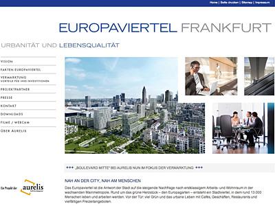aurelis - Europaviertel Frankfurt