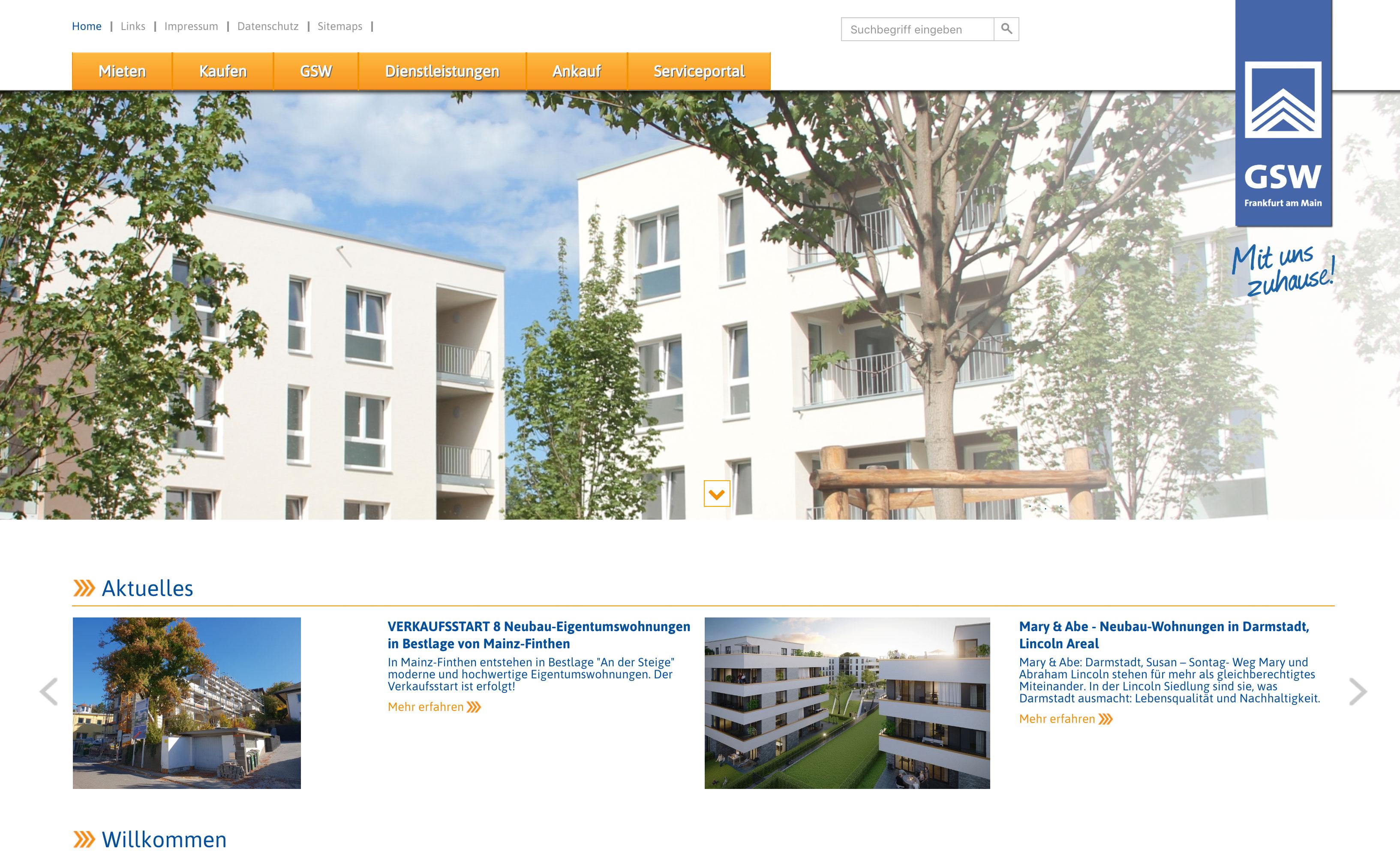GSW Gemeinnütziges Siedlungswerk GmbH, Frankfurt