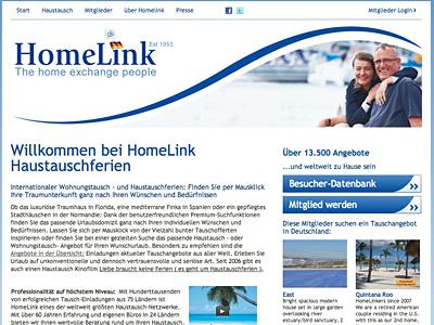 homelink, Haustausch