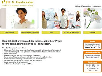 Zahnarztpraxis Dr. Phobe Kaiser, Wiesbaden