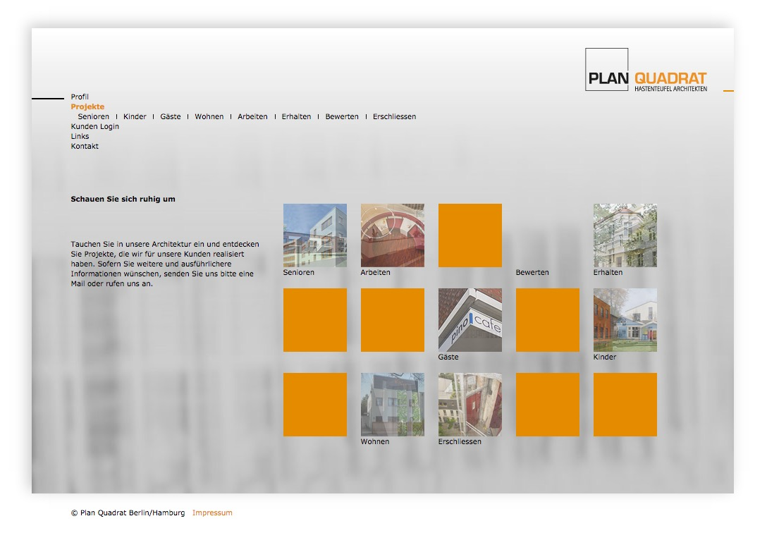 Plan 4 // Architekten