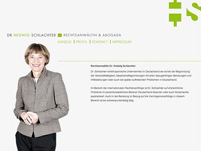Rechtsanwältin Dr. Hedwig Schlachter