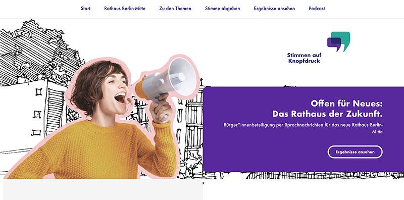 Rathaus Berlin-Mitte: Stimmen auf Knopfdruck